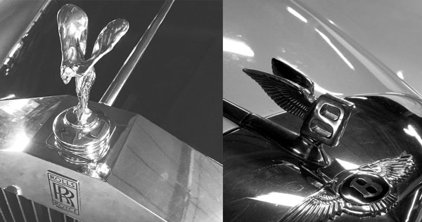 Rolls Royce and Bentley Emblem